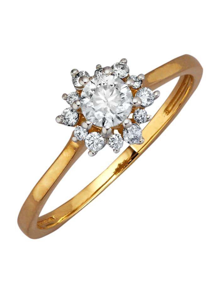 diemer diamant - Damenring  Gelbgoldfarben