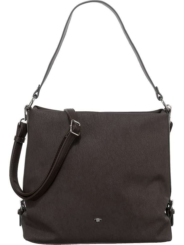 tom tailor - Perugia Hobo Bag Handtasche  dunkelbraun