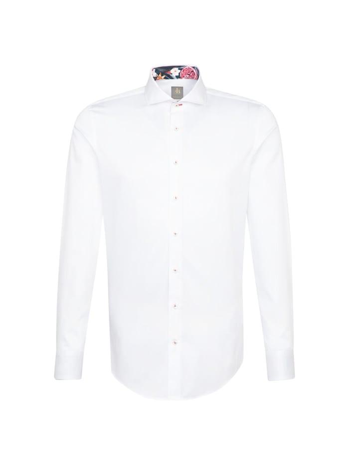 jacques britt - Business Hemd ' Custom Fit '  Uni weiss (0001)