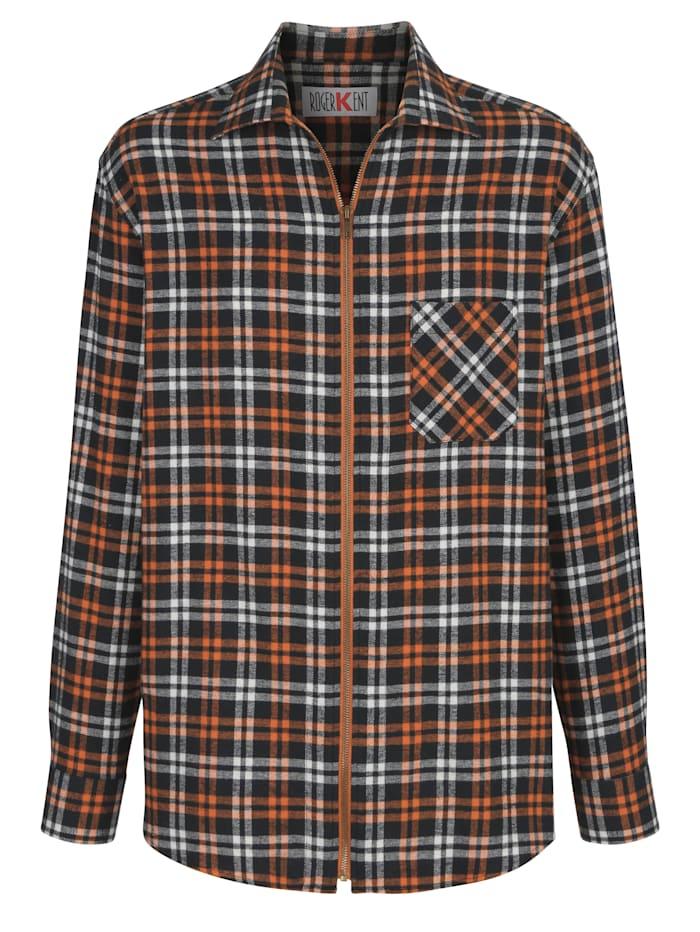 Overhemd Roger Kent Terracotta::Marine