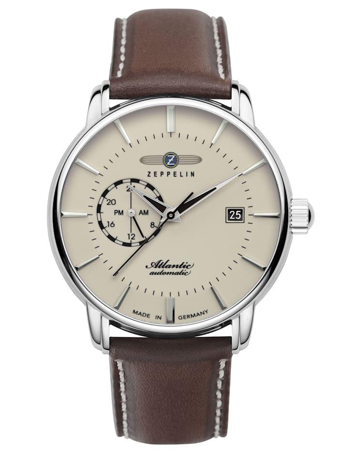 zeppelin - Herren-Armbanduhr Atlantic 24h Automatik 8470  beige