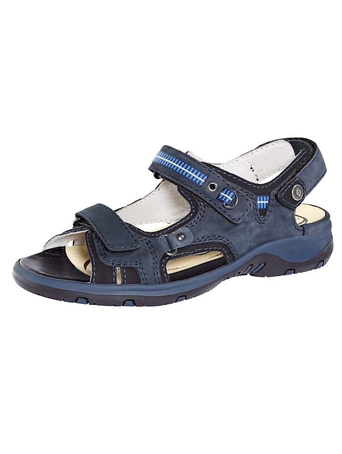 Sandaaltje Waldlaufer Donkerblauw