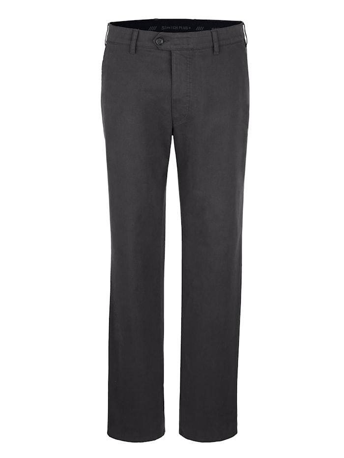 Pantalon sans pinces Brühl Gris foncé