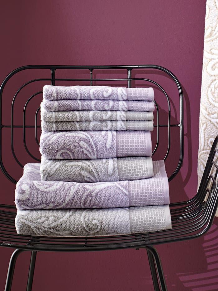 Handdoeken Azores Kleinmann grijs