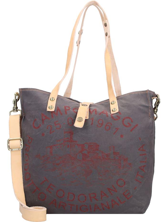 campomaggi - Shopper Tasche 30 cm  grigio-naturale2