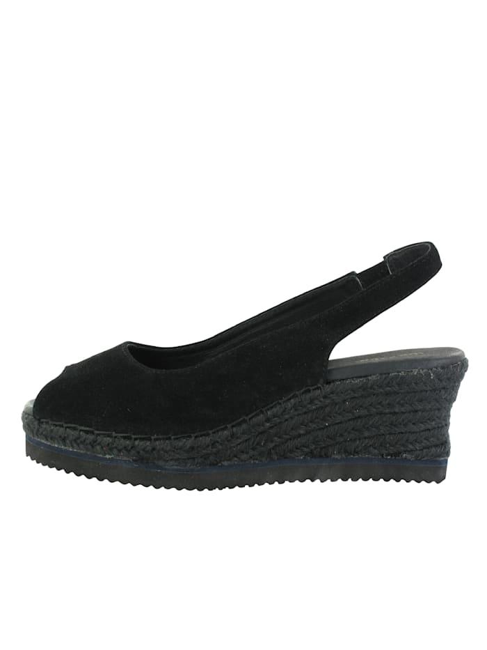flip flop - Keilsandale Oasis  schwarz