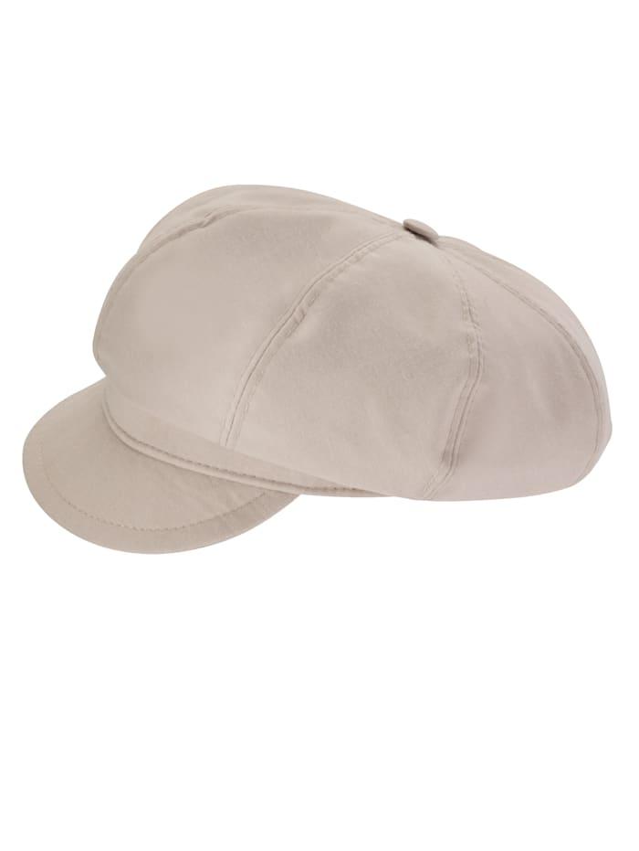 Sonnenschutz Mütze Faustmann beige