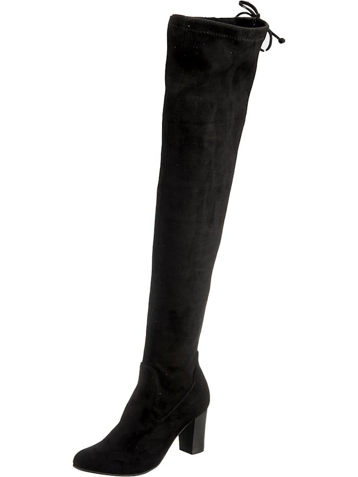 caprice - Overknee-Stiefel  schwarz