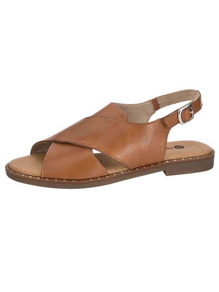 Sandaaltje Remonte Lichtbruin