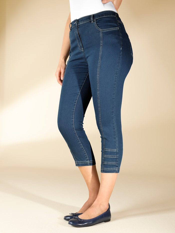 3 4 Jeans m. collection Blue stone