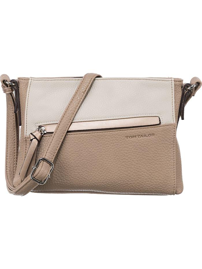 tom tailor - Soraya Cross Bag S Umhängetasche  beige-kombi