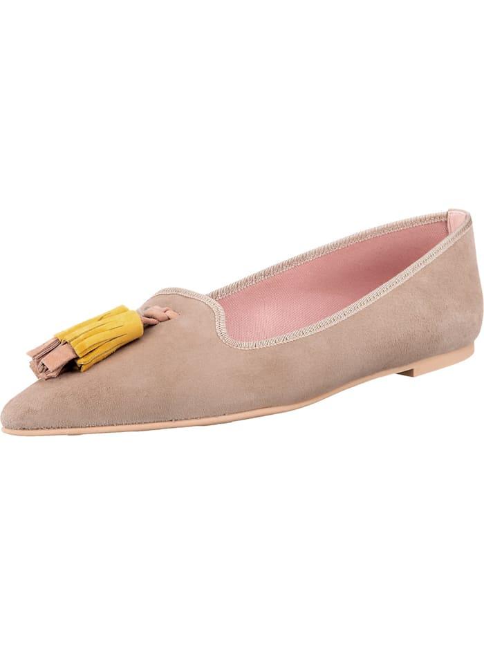 pretty ballerinas - Rosario Klassische Ballerinas  beige