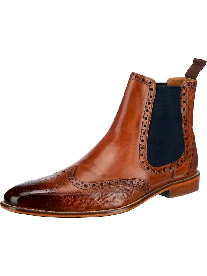 melvin & hamilton - Martin 5 Chelsea Boots  cognac