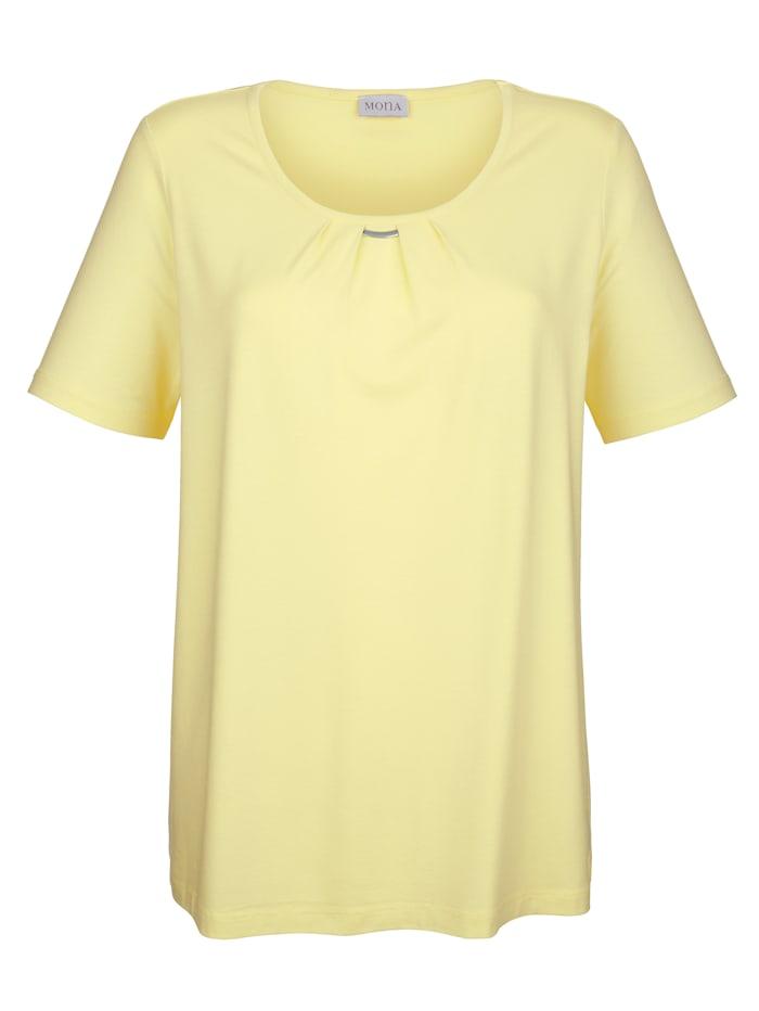 Shirt MONA Geel