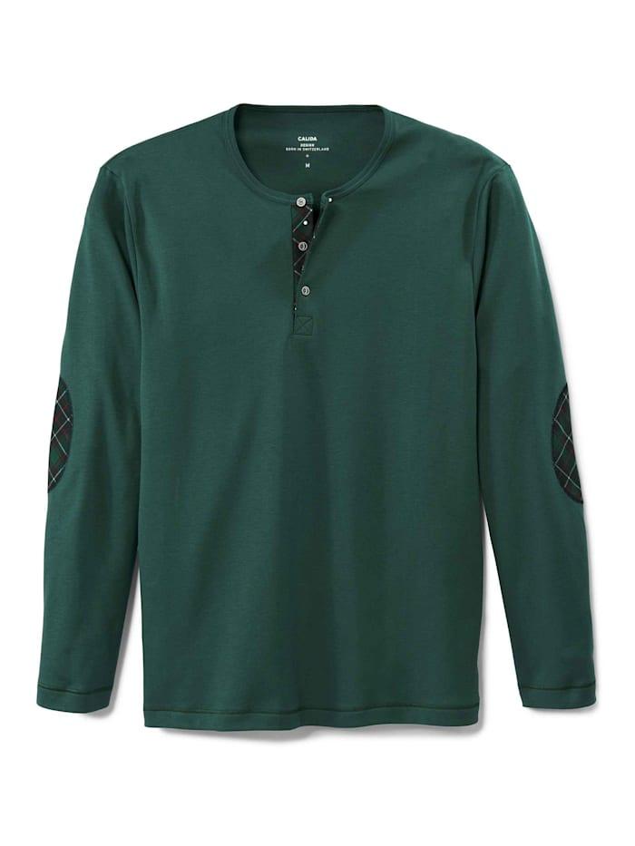 calida - Langarm-Shirt  holly green