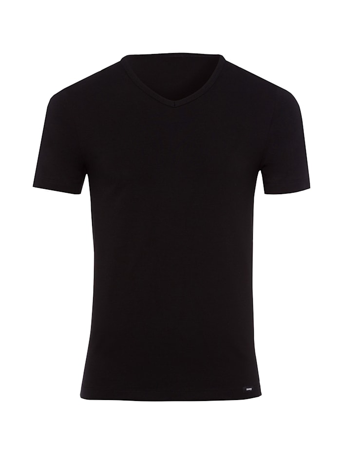 skiny - T-Shirt Essentials Men in schlichtem Design  black