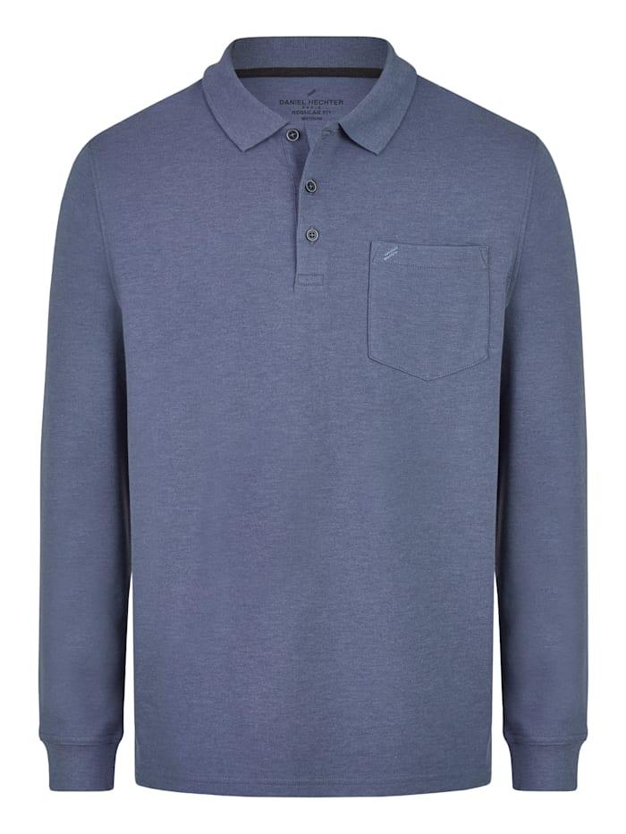 daniel hechter - Essential Polo-Shirt  steel blue