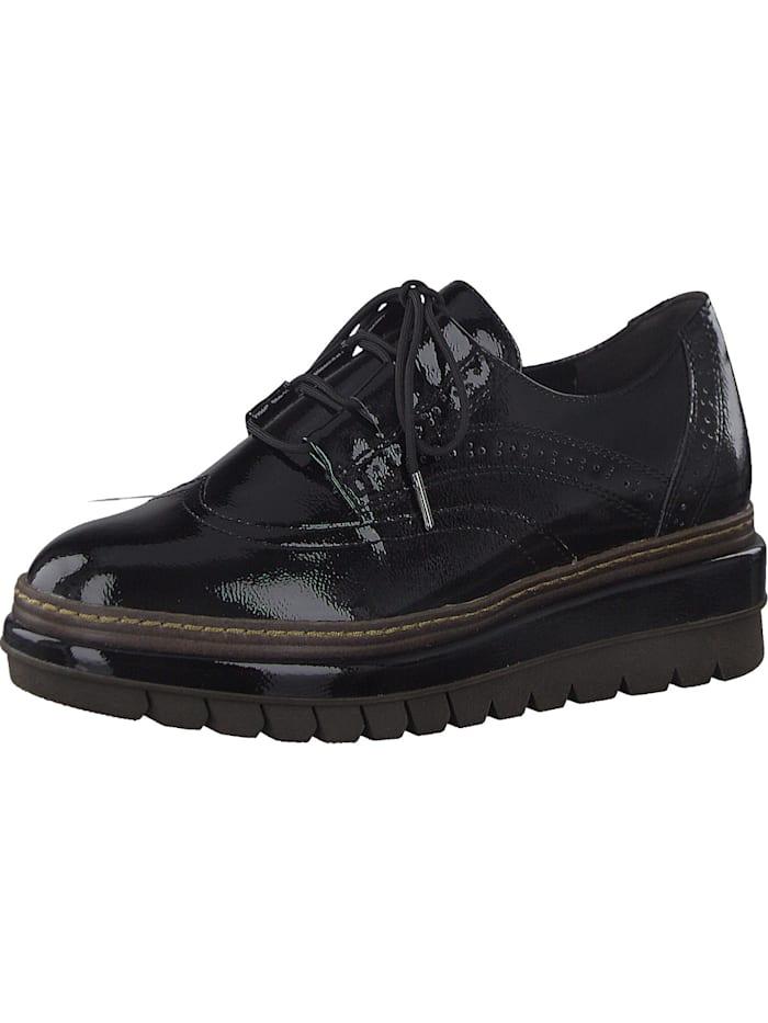 tamaris - Schnürschuhe  schwarz