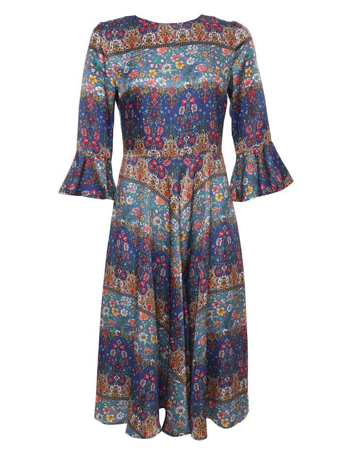 madam-t - Sommerkleid Juliette  blau, rot