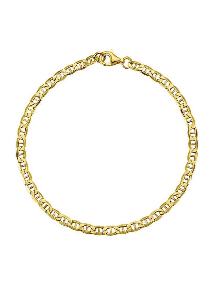 Image of Ankerarmband Amara Gold Gelbgoldfarben