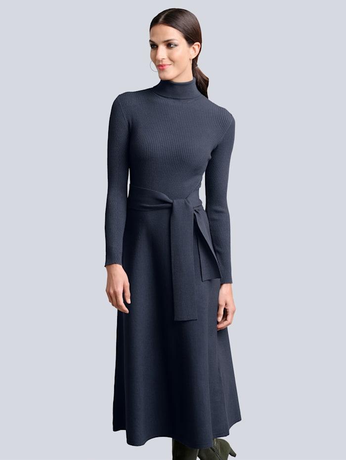alba moda - Strickkleid  Marineblau