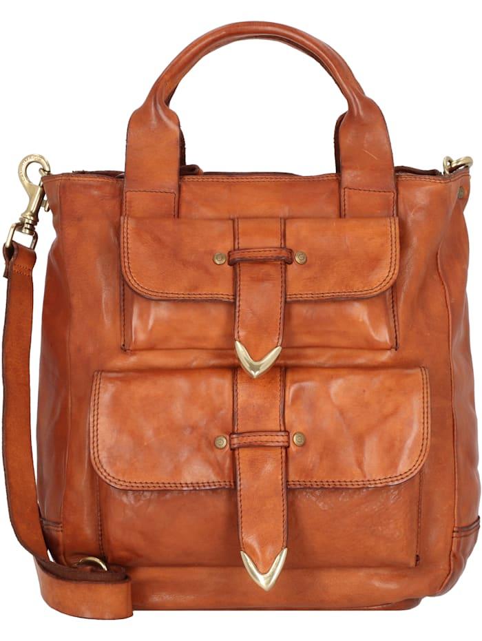 campomaggi - Shopper Tasche Leder 28 cm  cognac