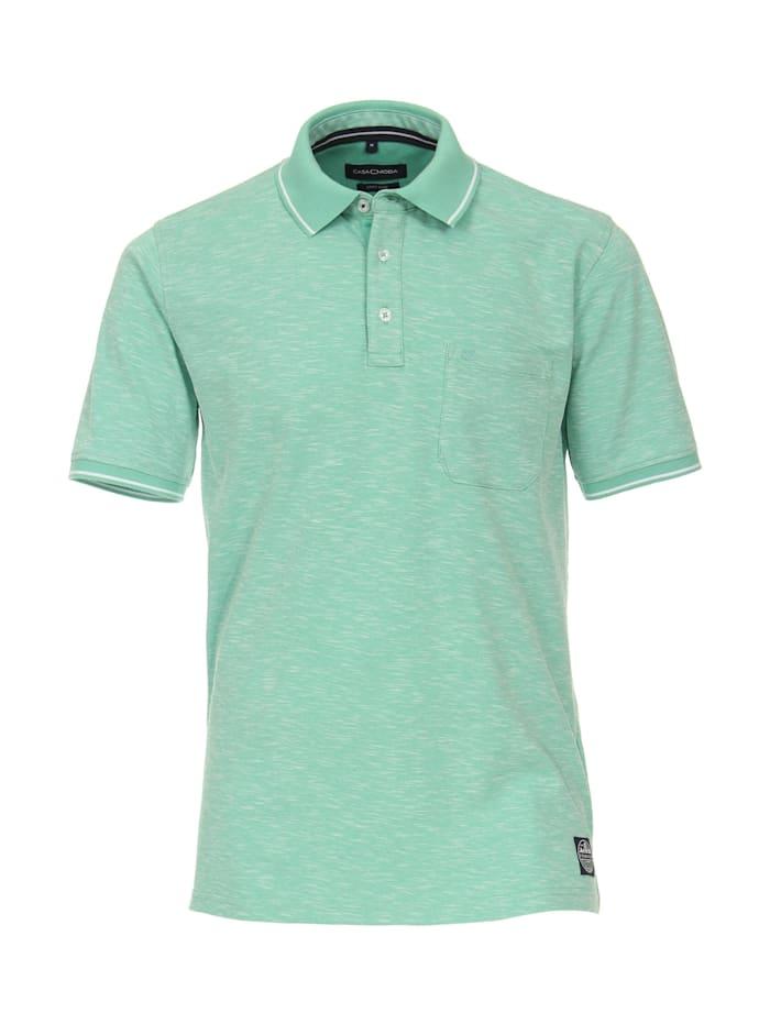 casamoda - Polo-Shirt uni  Hellgrün
