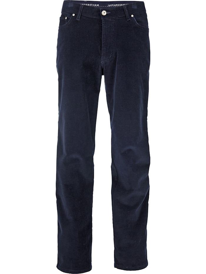 jan vanderstorm -  Cordhose TJELVAR  dunkelblau