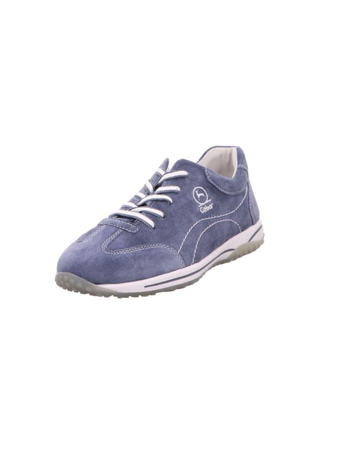 gabor - Schnürschuhe  blau
