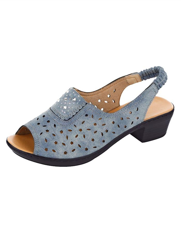 Sandaaltje Julietta Blauw