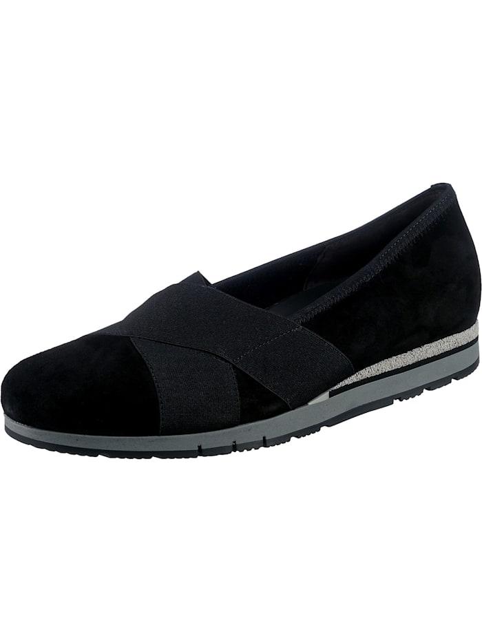 gabor - Komfort-Ballerinas  schwarz