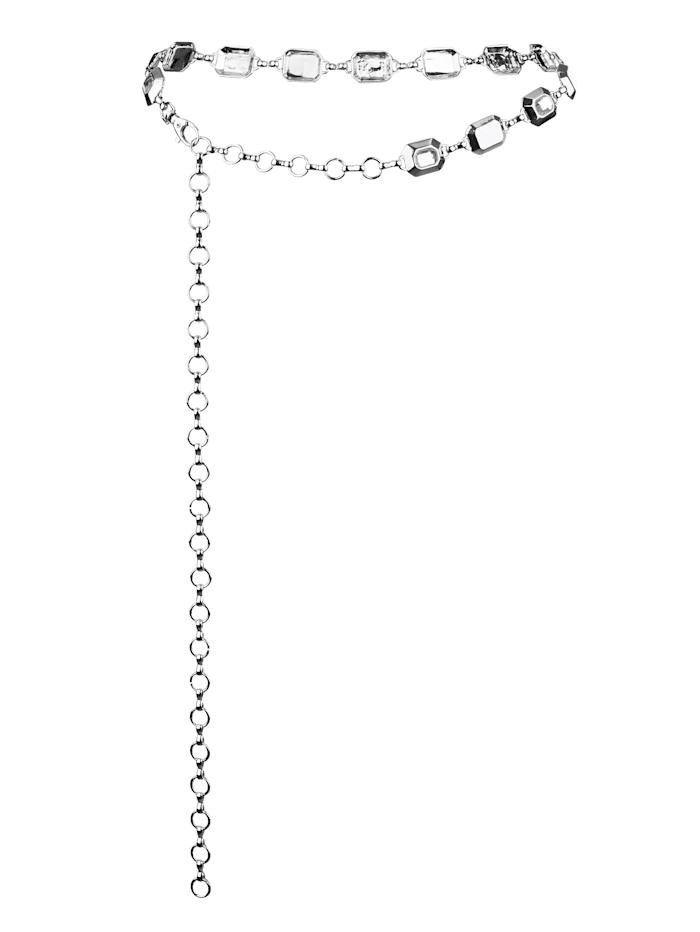 Ceinture chaîne Paola Coloris argenté