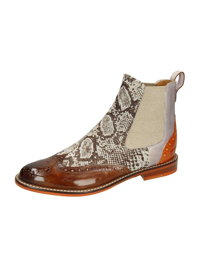 melvin & hamilton - Selina 29 Chelsea Boots  braun-kombi