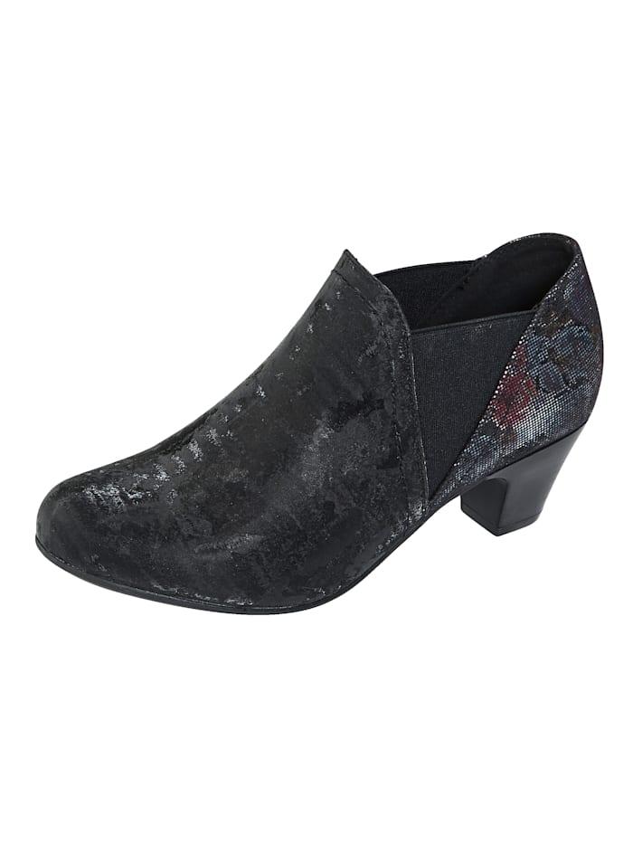 liva loop - Ankle Boot  Schwarz