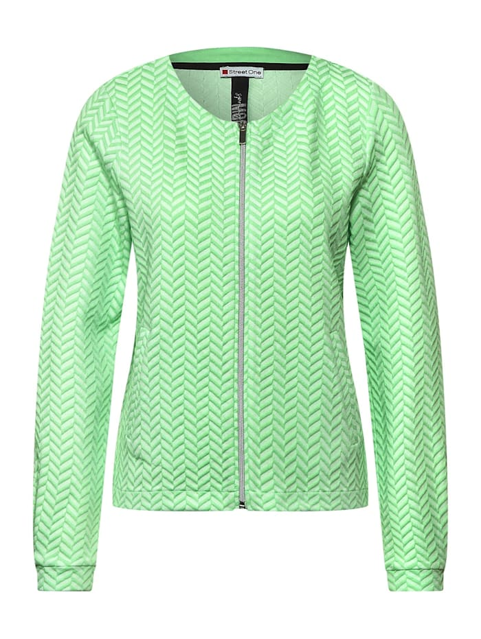 street one - Lässige Shirtjacke  frosted pistachio