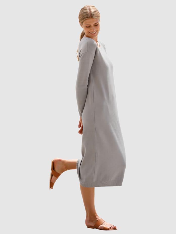 dress in - Strickkleid  Grau