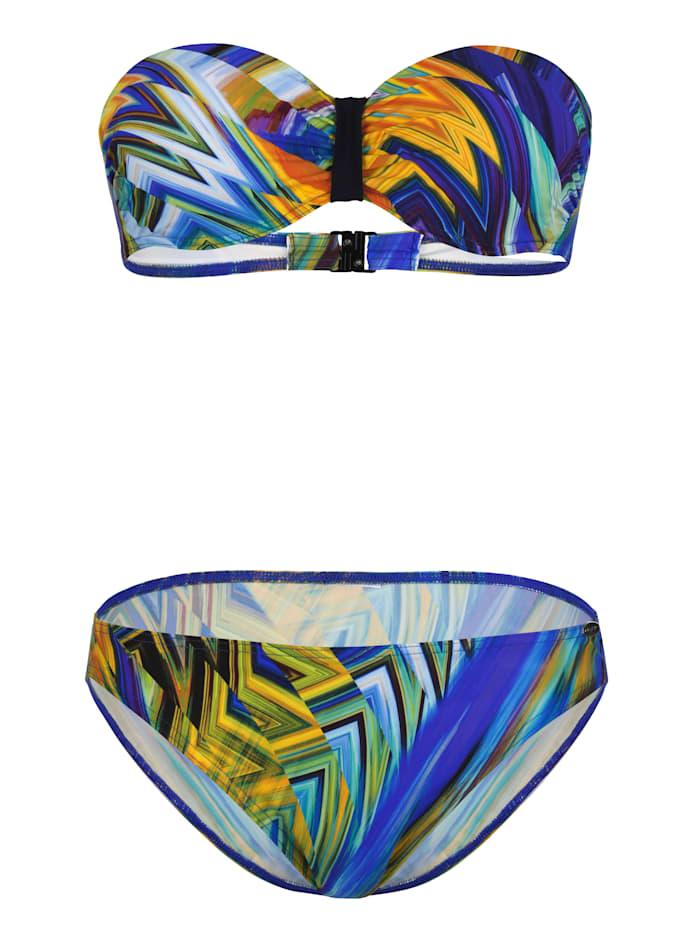 Image of Bandeaubikini Sunflair Blau