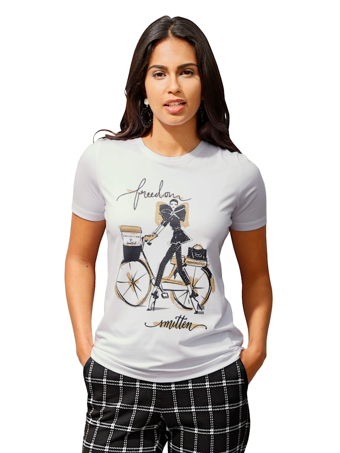Shirt AMY VERMONT Wit