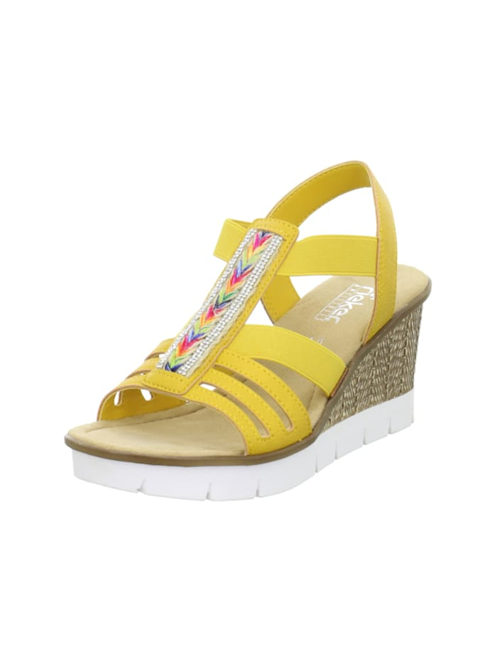 rieker - Sandalen/Sandaletten  gelb