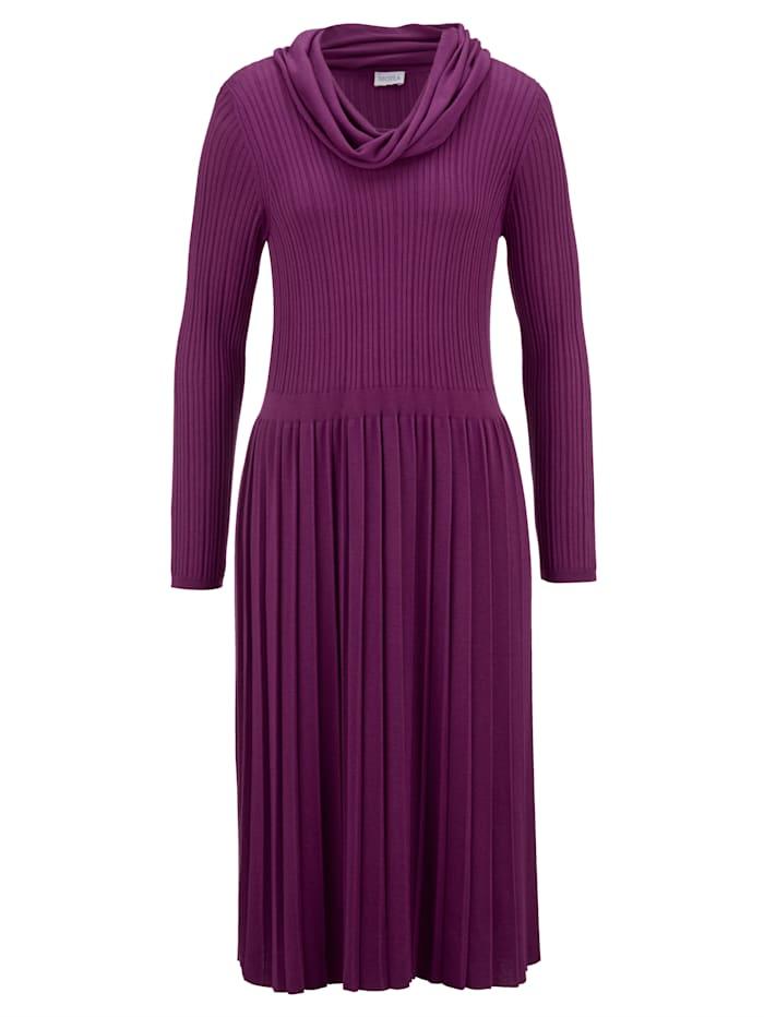 Gebreide jurk MONA Fuchsia