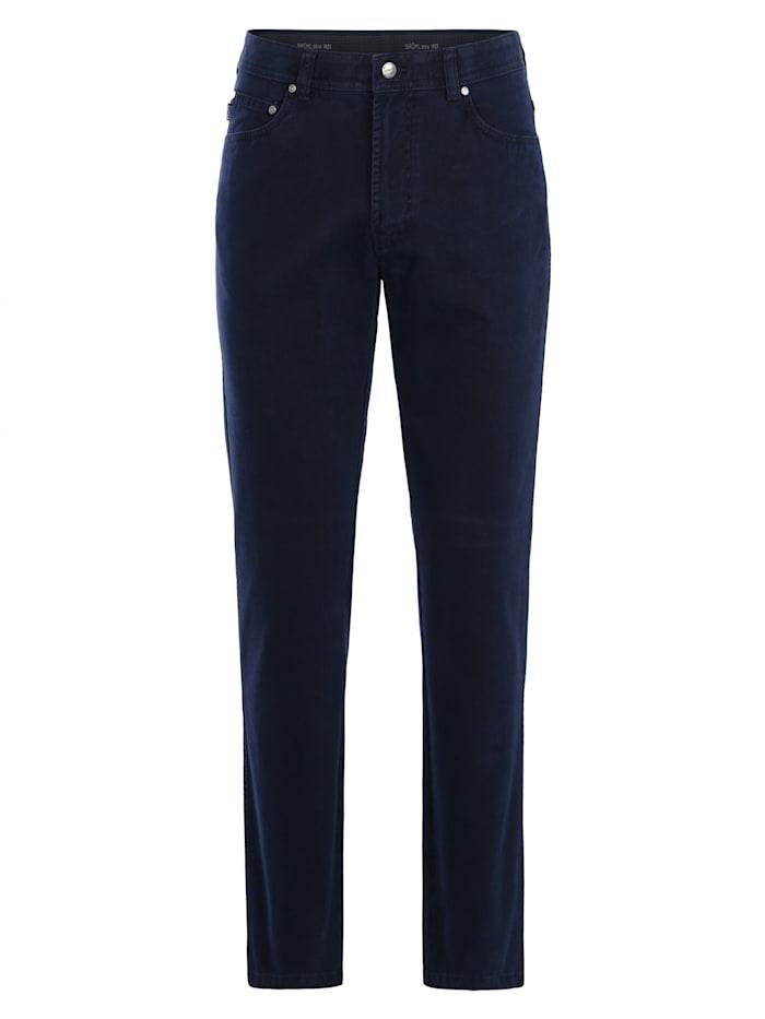 brühl - Regular Fit-Jeans Genua III mit bequemem Komfortbund  marine
