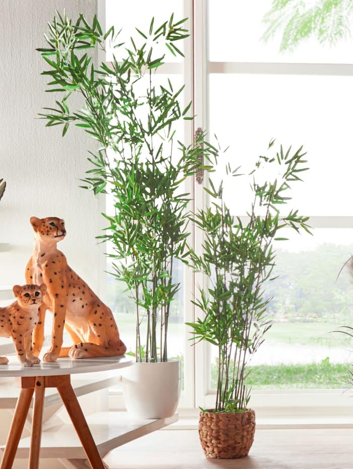 Kunstpflanze 'Bambus' IGEA grün