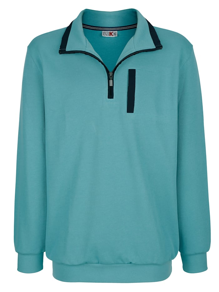 Sweatshirt Roger Kent Turquoise