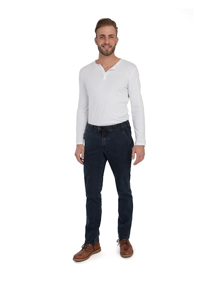 club of comfort - Jeans GARVEY 6822 mit Thermolite-Wärmeisolierung  mittelblau