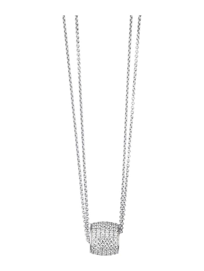 Hanger met ketting Diemer Trend Zilverkleur