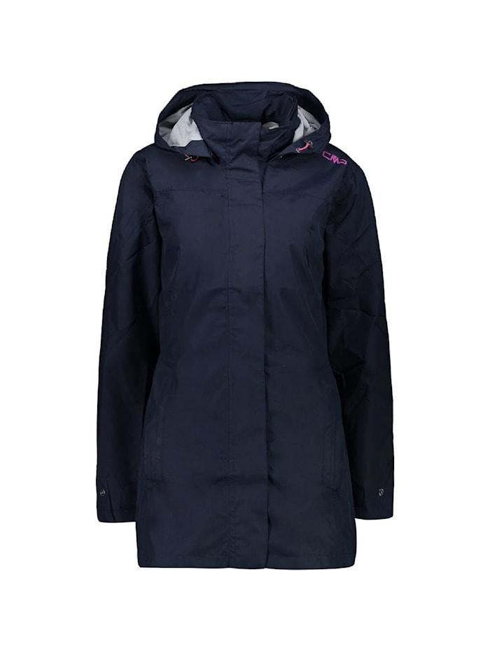 cmp -  Jacke Rain Hoodie Button  Marineblau