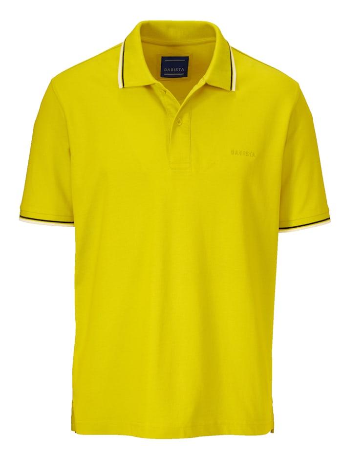 Poloshirt BABISTA Geel