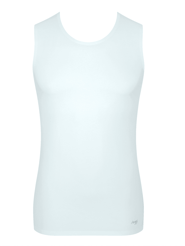 Mouwloos shirt sloggi Wit