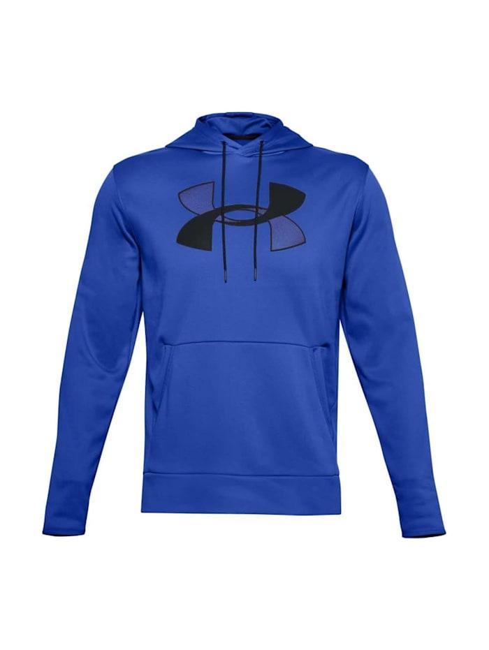 under armour -  Hoodie Fleece Big Logo HD  Blau