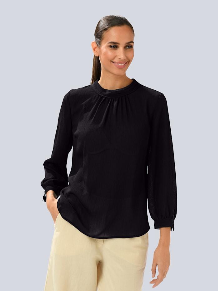 Blouse Alba Moda Zwart